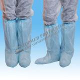 Cubiertas del cargador del programa inicial o cubierta azules no tejidas disponibles de los botines del zapato