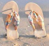 Fashion Custom Impresionado Beach Lady EVA Flip Flops