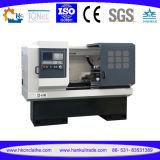 CNC 기계장치 편평한 침대 유형 CNC 수평한 선반 Cknc6136A