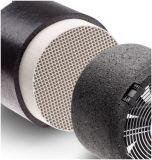 Échangeur de chaleur en céramique d'alumine de nid d'abeilles de mémoire thermique pour le système de ventilation
