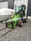 Trator de exploração agrícola pequeno de Hzm 910 do carregador da venda quente
