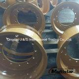 猫モーターグレーダーの車輪の縁24-10.00/1.7、24-10.00/2.0 25-14.00/1.5 OTRの車輪の縁