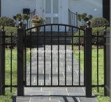 Niza diseño de encargo de la puerta del patio del hierro labrado para la casa