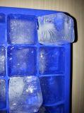 Personifiziertes Eis-Würfel-Tellersegment des Nahrungsmittelgrad-König-Nonstick Silicone Custom