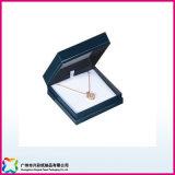 De Gift die van de Vertoning van de luxe de Halsband van het Leer van Pu/de Doos van Juwelen (xc-1-007) verpakken