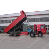 Sinotruk HOWO 8X4 드라이브 371HP 덤프 트럭 팁 주는 사람 또는 쓰레기꾼