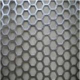 Maille métallique perforée de différents matériaux