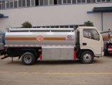 Dongfeng 4500 리터 강철 연료 유조 트럭 트럭 5 톤 석유 탱크
