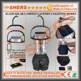 Solar del enchufe USB 36 LED Linterna camping Dynamo de arranque