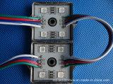 최신 판매 IC1903 12V 3LED는 5050 풀 컬러 LED 모듈을 방수 처리한다