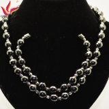 Гематит способа отбортовывает ювелирные изделия ожерелья