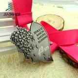 Premio personalizada directa de fábrica de Deportes de la ejecución de la pantalla de la medalla de metal de aleación de zinc