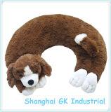 Lavable de animales de peluche reutilizable compresa caliente en el cuello del perro de envoltura