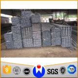 Schwarzes Quadrat-Stahlrohr für Struction (CZ-SP23)