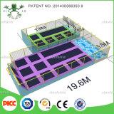 Trampolines ASTM стандартные превосходные большие прямоугольные с спортивной площадкой