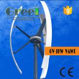 turbina de vento vertical pequena USD da linha central 1kw para a HOME