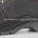 Zapatos de seguridad de cuero industriales con el certificado Snb103 del Ce