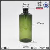 200ml 화장품을%s 진한 녹색 곱슬머리 살포 병에 넣은 물 헤어 스프레이 병
