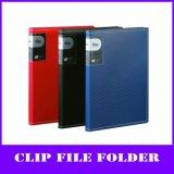 색깔 A4 PP 엘리트 D-환형물 바인더 파일 홀더