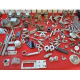 鋼鉄精密は回された部品を機械で造った