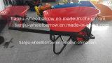 carrinho de mão de roda 100L Wb8602 com roda de Pnematic