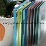 3/4/5/6+0.38/0.76+3/4/5/6mm 착색된 유리제 박판으로 만들어진 유리