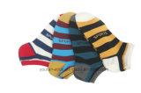 Gekamd Katoen/de Nylon Sok van de Sport met de Aaneenschakeling van de Hand