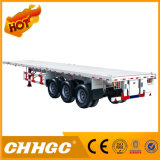 3 반 반 차축 45FT 콘테이너 트럭 트레일러 평상형 트레일러 트레일러