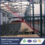 Instalación del edificio de la estructura de acero para el supermercado/la alameda y la plaza de compras