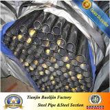 Section creuse ronde 63mm Tube en acier noir et le profil de tuyau