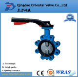 Feito em China, Pn16 Manual-Operou o preço da válvula de borboleta D71X-16 da bolacha