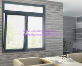 Una buena calidad de aluminio color blanco de la ventana Awing calificados para la construcción de la parte superior de aluminio colgado/Ventana toldo fabricante