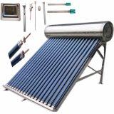 Alta Presionado Ss calentador de agua solar con Tanque Auxiliar
