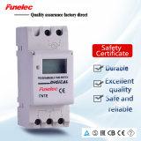 Переключатель отметчика времени еженедельной LCD Ce индикации утверждения 16A Programmable