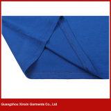 Impressão unisex branca personalizada da camisa de polo (P172)