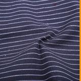 100%년 면 여자 털실에 의하여 염색되는 셔츠 직물