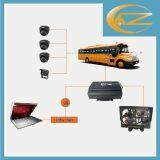 Disco duro Mdvr de WiFi/3G/GPS para el autobús escolar del coche del carro (HT-6606)
