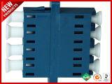 LC UPCフランジのプラスチックアダプターが付いているデュプレックスシングルモードSCのタイプ