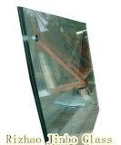 Ясность безопасности и покрашенное Tempered прокатанное стекло (JINBO)
