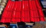 Dx 840機械を形作る着色された電流を通された亜鉛Galzedのタイルの屋根ふきロール