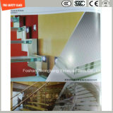 glace Tempered de 4-19mm pour le mur rideau, hôtel, construction, douche, Chambre verte