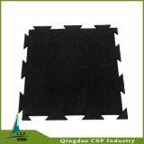 Couvre-tapis lourd en caoutchouc de couplage de centre de forme physique de stabilité colorée