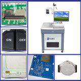 UV машина маркировки лазера для 2D маркировки шнура