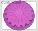 Gran Pastel de silicona moldes Pan Bakeware