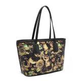 A chegada nova floresce o saco de couro real das mulheres da impressão para a venda