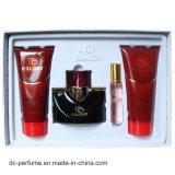 Fragancia de botellas de vidrio en la promoción de calidad superior buen perfume