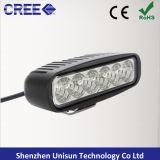barra chiara del mini LED lavoro automatico di 9-32V 6inch 18W