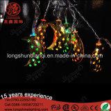 Conducido Ramadán Luna y estrellas de la luz de la cadena decoraciones de la media luna