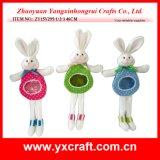 Presentes novos do coelho 2016 de Easter da amostra livre da decoração de Easter (ZY15Y295-1-2-3)