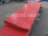 Strato d'acciaio del tetto dello Alu-Zinco/mattonelle di tetto preverniciate zinco di alluminio del metallo